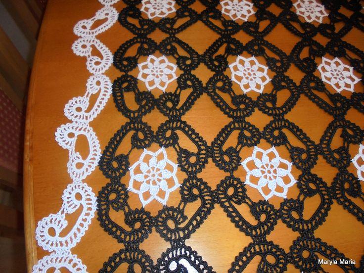 Hobby- moje własnoręczne robótki / szydełkowy obrus // Hobby- my own handkerchief / crochet tablecloth