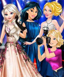 Princess Celebrity Life Dress Up Game