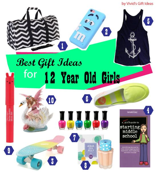 List Of Good 12th Birthday Gifts For Girls