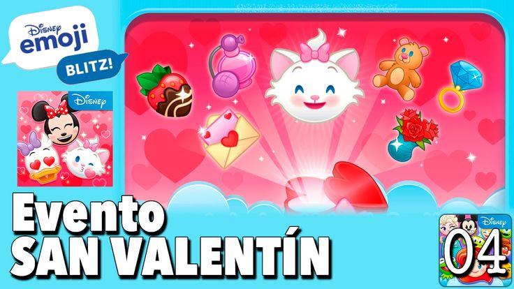 Evento San Valentín / Juego Disney Emoji Blitz - Gameplay