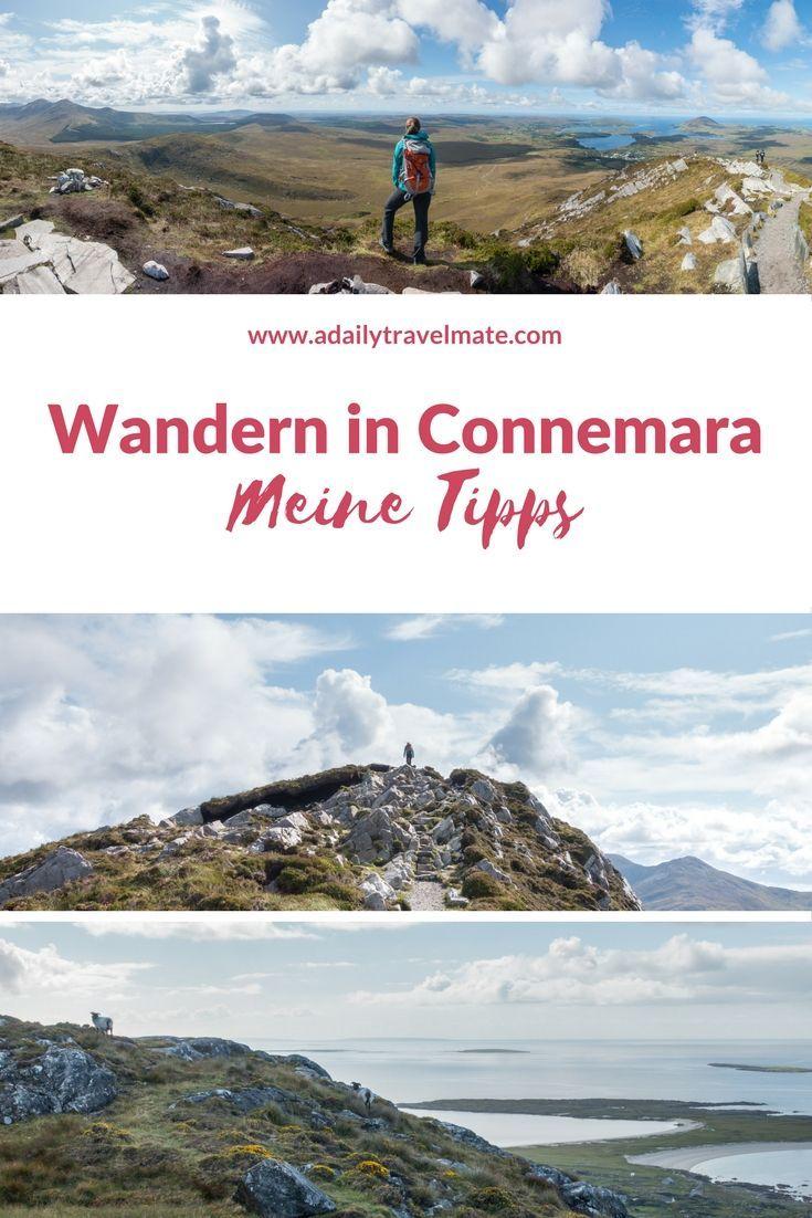 Hier findest du meine Tipps und Tourenvorschläge für eine Reise nach Connemara in Irland #wandern #reise #irland #irlandreise #wanderninirland