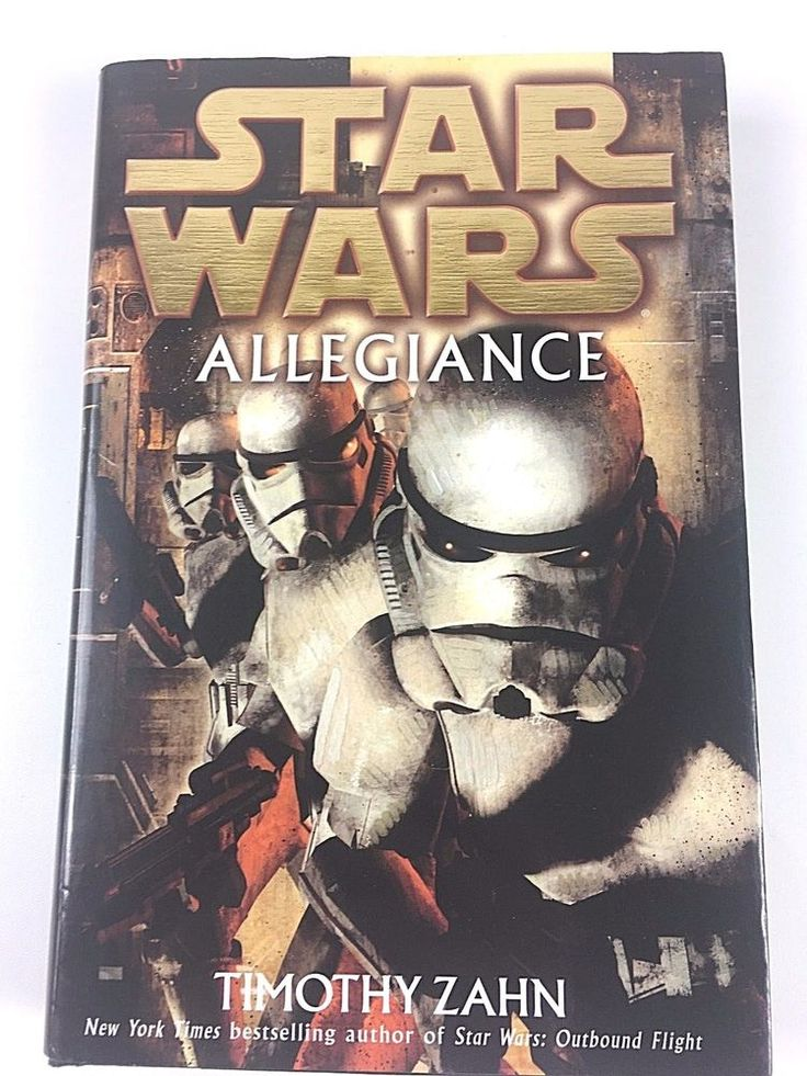 Rare 1st Edition Star Wars: Allegiance by Timothy Zahn 2007 Hardcover