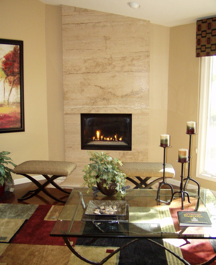 Pottery Court Lake Elsinore Floor Plans: Floor To Ceiling Fireplace