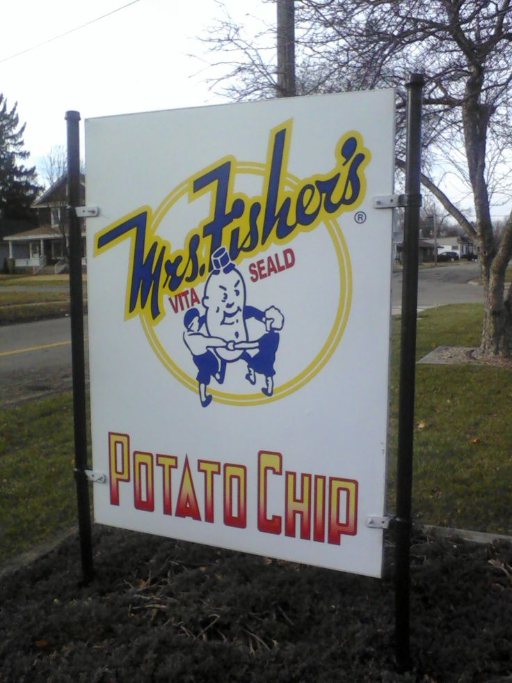 Fishers Potato Chips from Rockford, Illinois