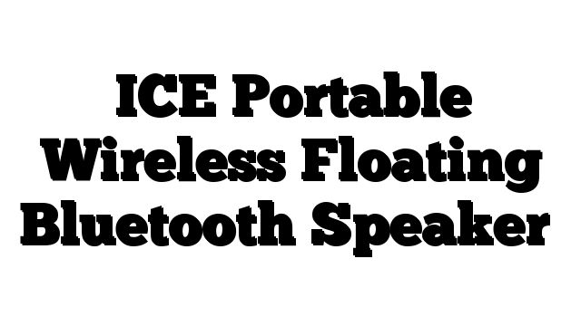 ICE Portable Wireless Floating Bluetooth Speaker - http://techstronics.com/reviews/home-theater/sonos/ice-portable-wireless-floating-bluetooth-speaker/  - #Sonos