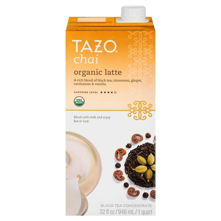 Tazo Organic Chai Tea Latte