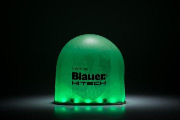 Al Fuori Salone 2014 la nuova lampada di design di Blauer Hi Tech