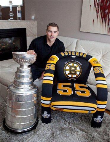 NHL - Boston Bruins - Johnny Boychuk - Jersey Chair #stanleycupchampions