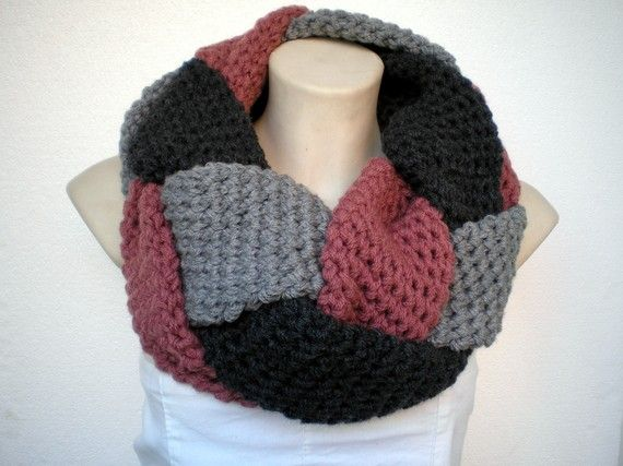 Braided Cowl Knitting Pattern : 17 Best images about Crochet braided on Pinterest Cowl patterns, Cowl scarf...