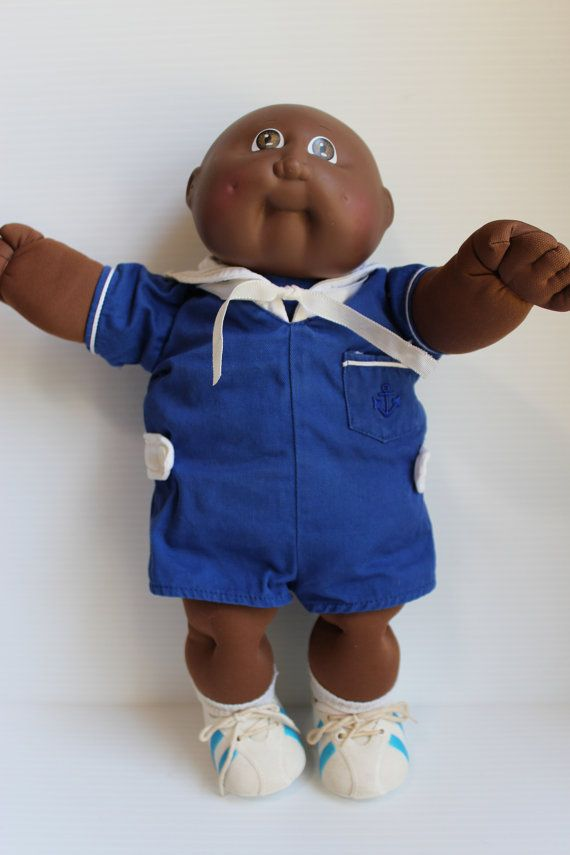 1982 Vintage African American Cabbage Patch Doll by TheJellyJar