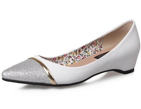 Sequin Women Pointed Toe Flats Shoes_Flats Women Shoes Wholesale Shoes Wholesale Clothing, Cheap Clothes Online, Discount Clothing Shop - UniWholersaler.com