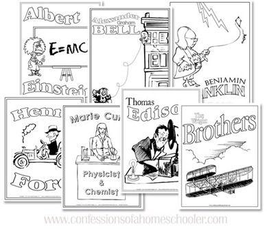 Scientist & Inventor Unit Studies