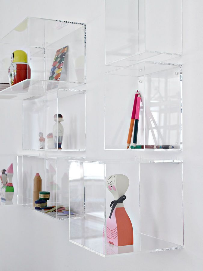 acrylic box shelf google search