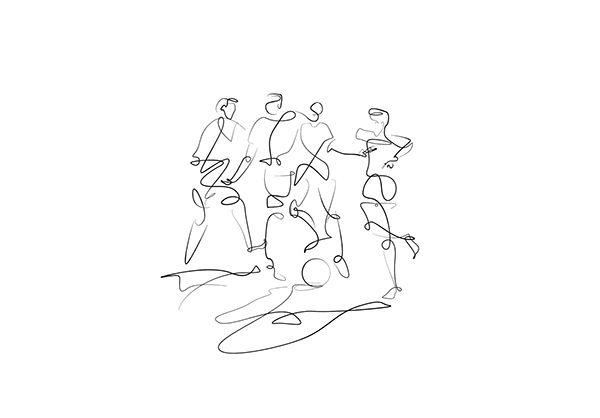 #sketches #drawing #illustration #portratit #continuous #line #SoCUCU