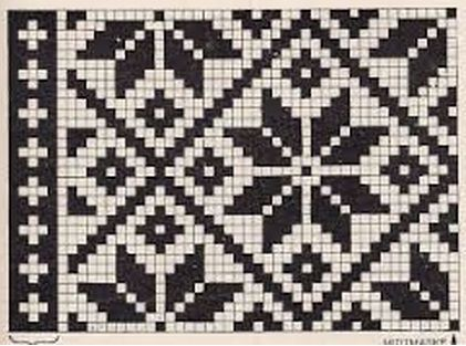Norwegian patterns spokes - I know this is for knitting, but it might work for cross stitch.