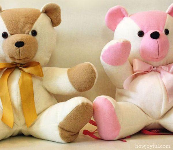 107 besten nounours Bilder auf Pinterest   Basteln, Teddybär muster ...