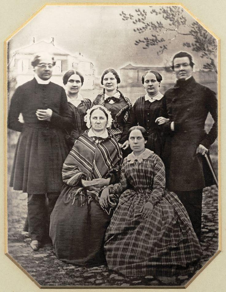 Runebergit vasemmalla 1846
