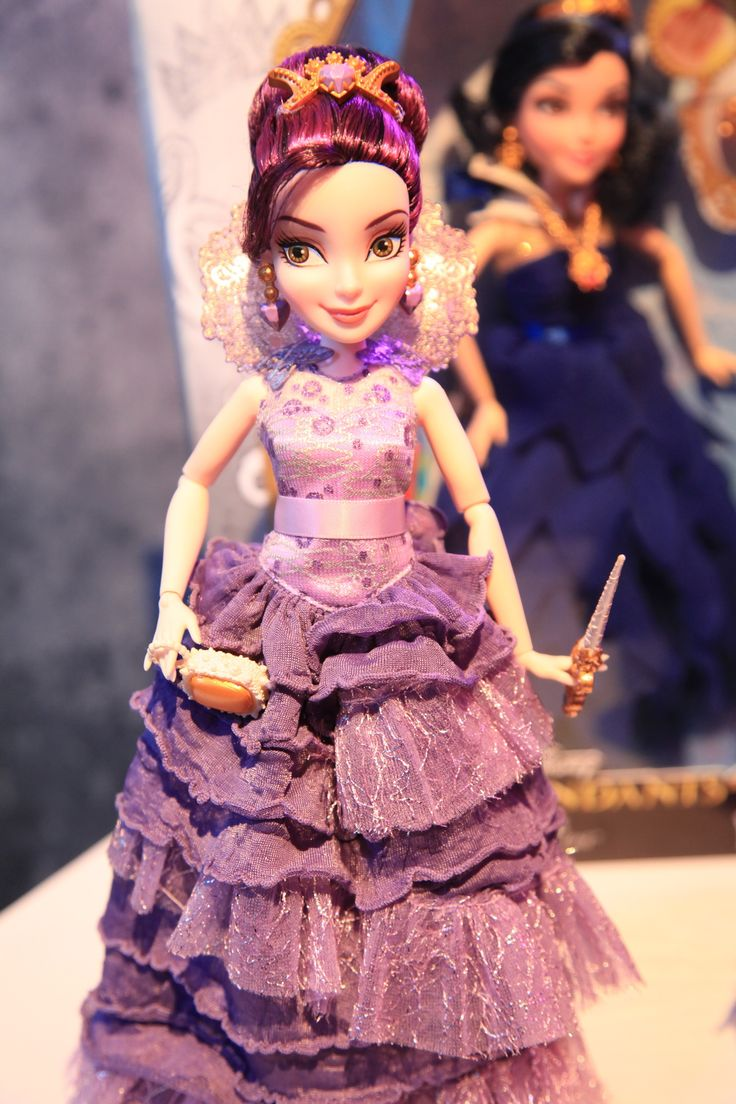 Dresses skirts clothes women disney store - Mal In Her Coronation Dress Disney Descendants Doll By Hasbro 2015 I Have Her In The With Ben From The Disney Store