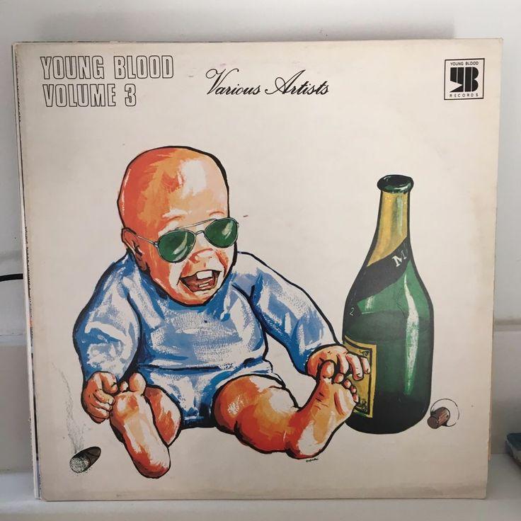 V/A Young Blood Vol 3 LP 1971 ORIG UK PRESS funky soul rock 12 cuts #RocknRoll