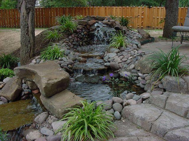 landscape designs waterfall southlake texas landscape designs
