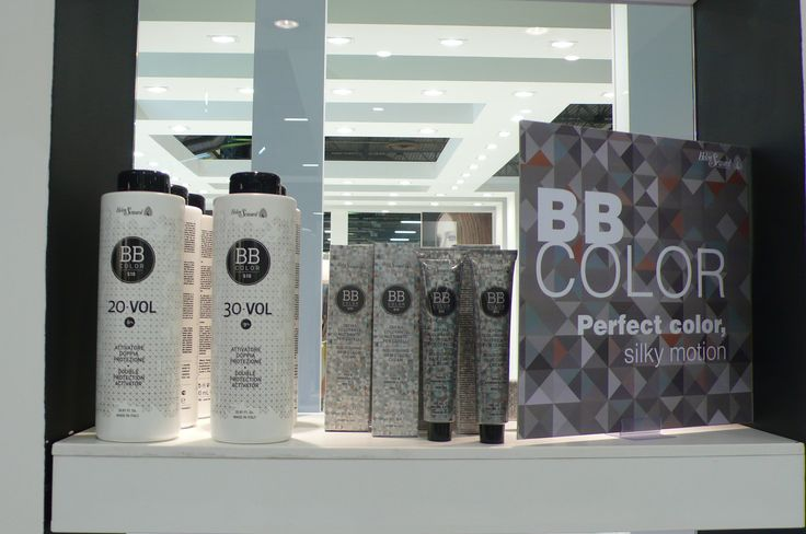 BBColor presentation at the booth of Cosmoprof 2013