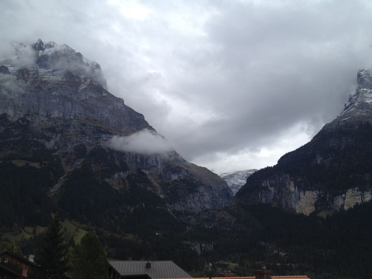 Mountain landscape of the Jungfrau