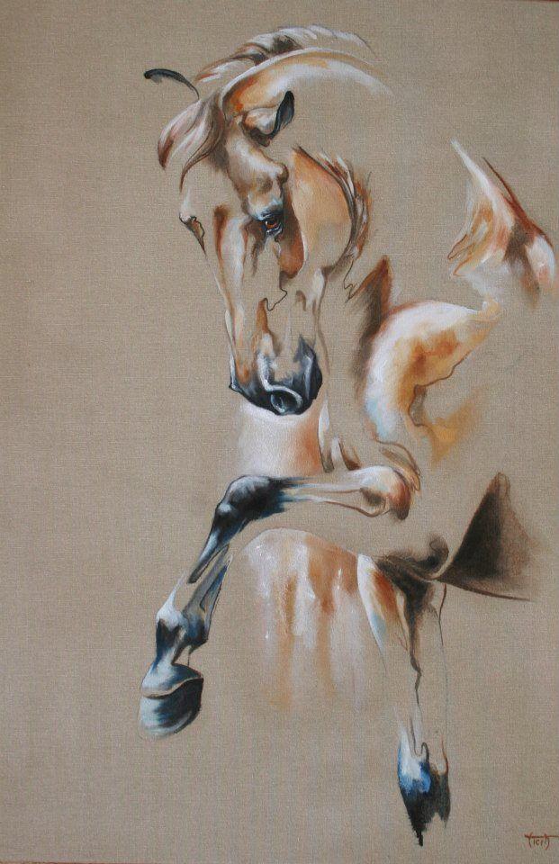Vincidore   - Laetitia PLINGUET Oil on canvas www.articia.fr