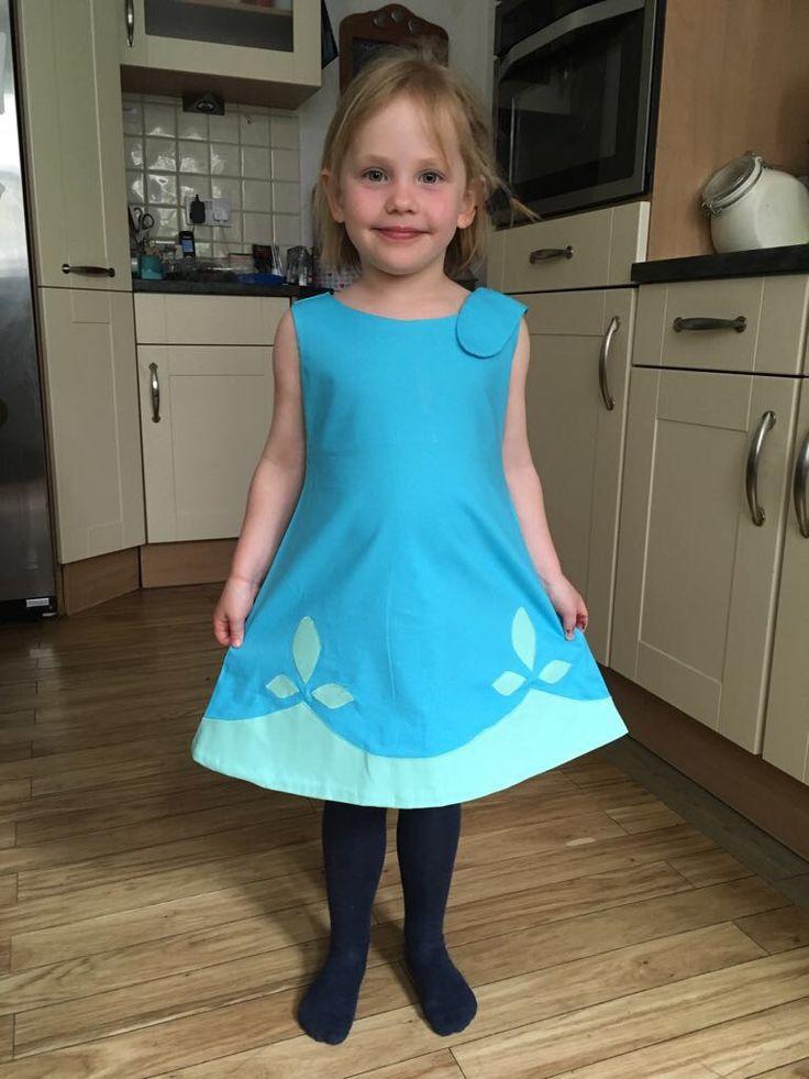 Princess Poppy Troll Dress - my own make!