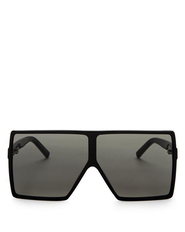 69mm Laurent Shield Oversized Saint Pinterest Products Sunglasses pRwIpTq