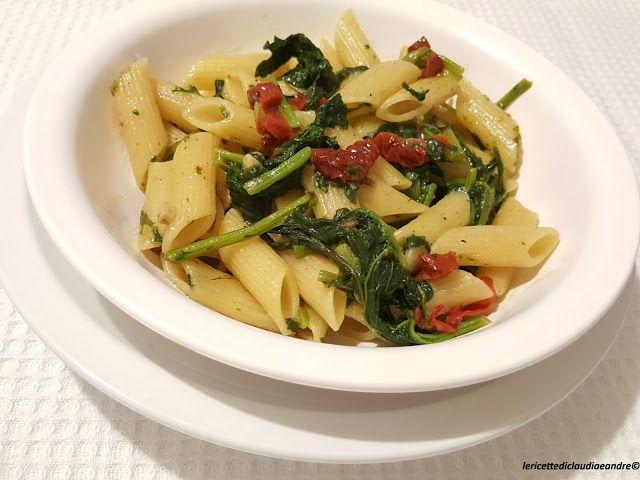 Le    ricette    di    Claudia  &   Andre : Pasta con cime di rapa e pomodorini secchi