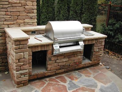 19 best outdoor grill images on Pinterest Bar grill, Decks and - uberdachter grillplatz im garten