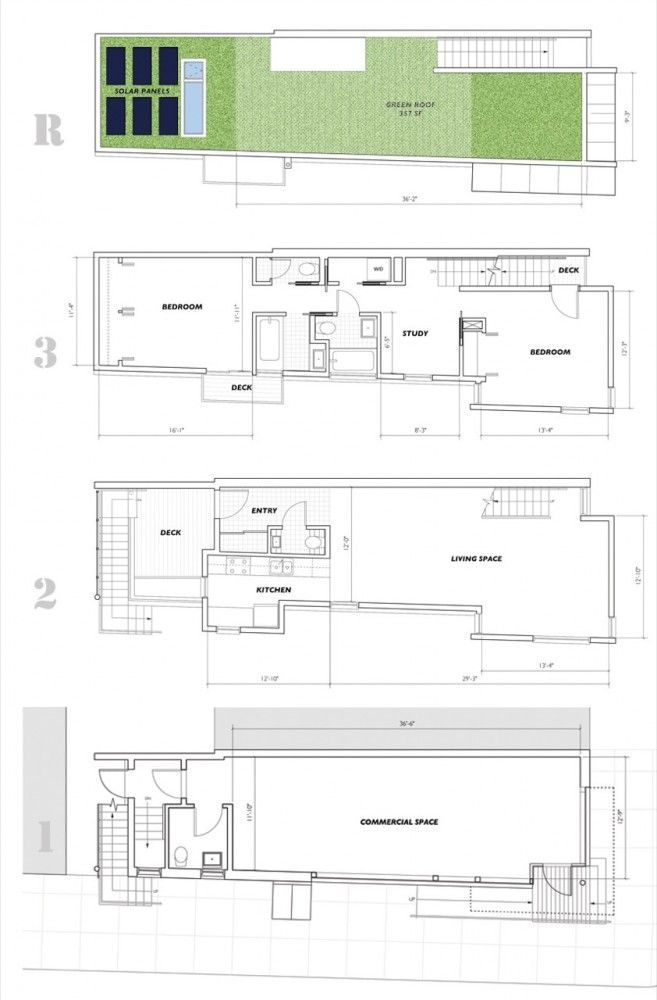 17 Best Images About Narrow House Plans On Pinterest