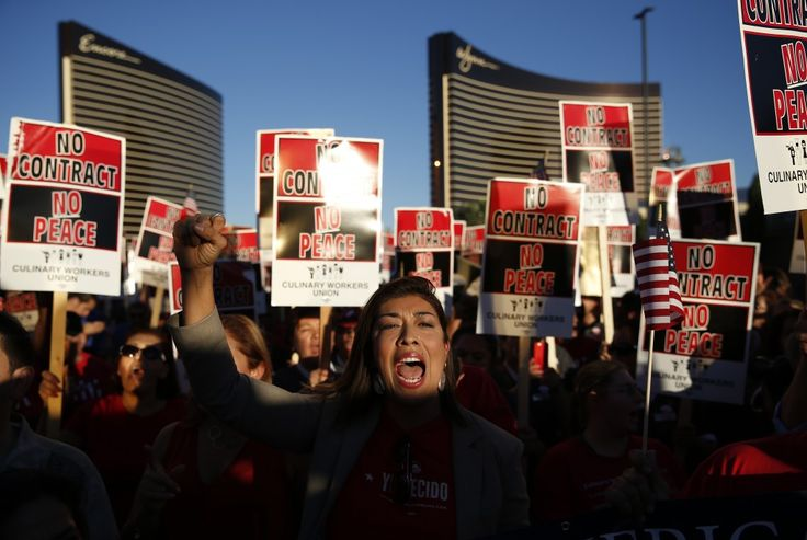 BREAKING: Donald Trump's Las Vegas Hotel Is Officially Unionized | ThinkProgress