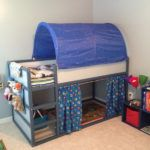 blue-ikea-kura-bed-for-little-boy