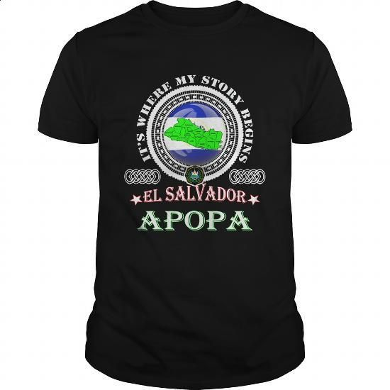 Apopa-El Salvador - #hooded sweatshirt dress #hooded sweater. ORDER NOW => https://www.sunfrog.com/LifeStyle/Apopa-El-Salvador-Black-Guys.html?id=60505