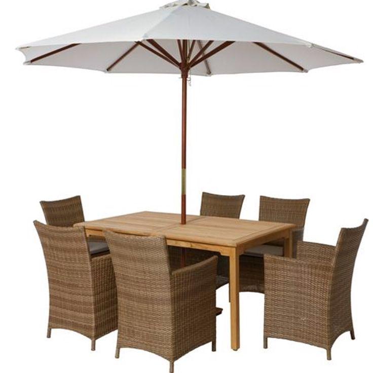 Samara Rattan Garden Furniture Set
