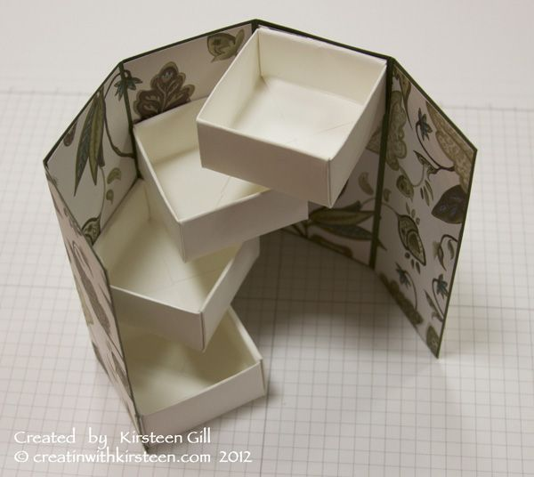 TUTORIAL for swiveling compartment box