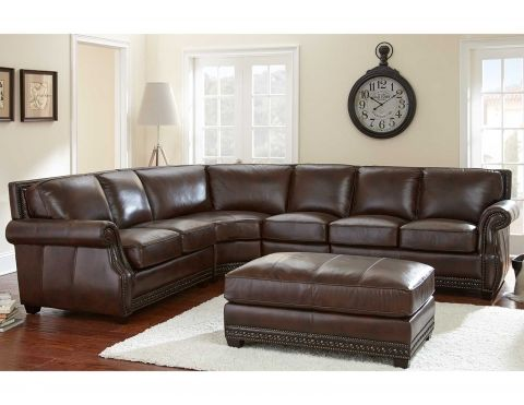 Steve Silver Henry Sectional Sofa with Optional Ottoman - Antique Tobacco - The Steve Silver Henry Sectional Sofa with Optional Ottoman u2013 Antique Tobacco ...  sc 1 st  Pinterest : jeromes sectional sofas - Sectionals, Sofas & Couches