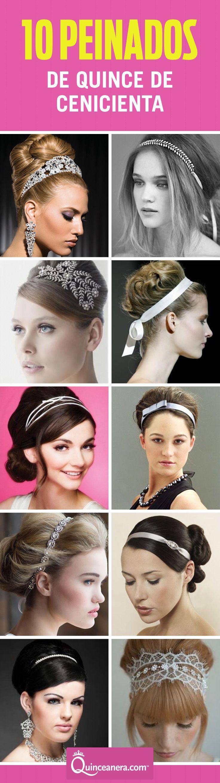 ¿Qué es más importante que el pelo en este día tan especial? ¡Ok, tu vestido! Ambos deben de reflejar tu personalidad | Peinados para quinceanera | Peinados faciles | http://www.quinceanera.com/es/peinados/10-peinados-perfectos-para-tu-tema-de-quince-de-cenicienta/?utm_source=pinterest&utm_medium=social&utm_campaign=article-es-111915-peinados-10-peinados-perfectos-para-tu-tema-de-quince-de-cenicienta