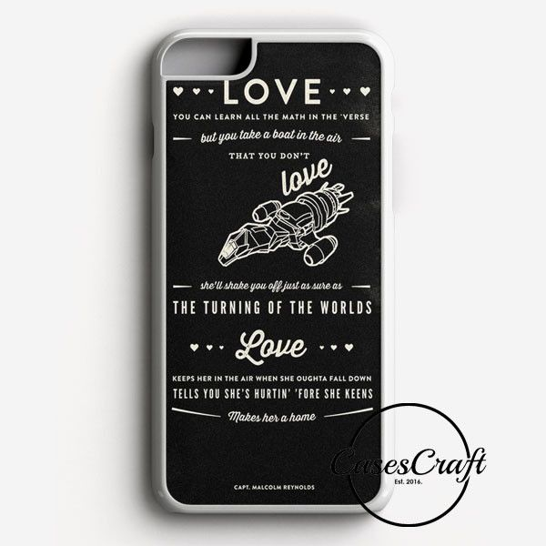 Firefly Serenity Quotes iPhone 7 Plus Case | casescraft
