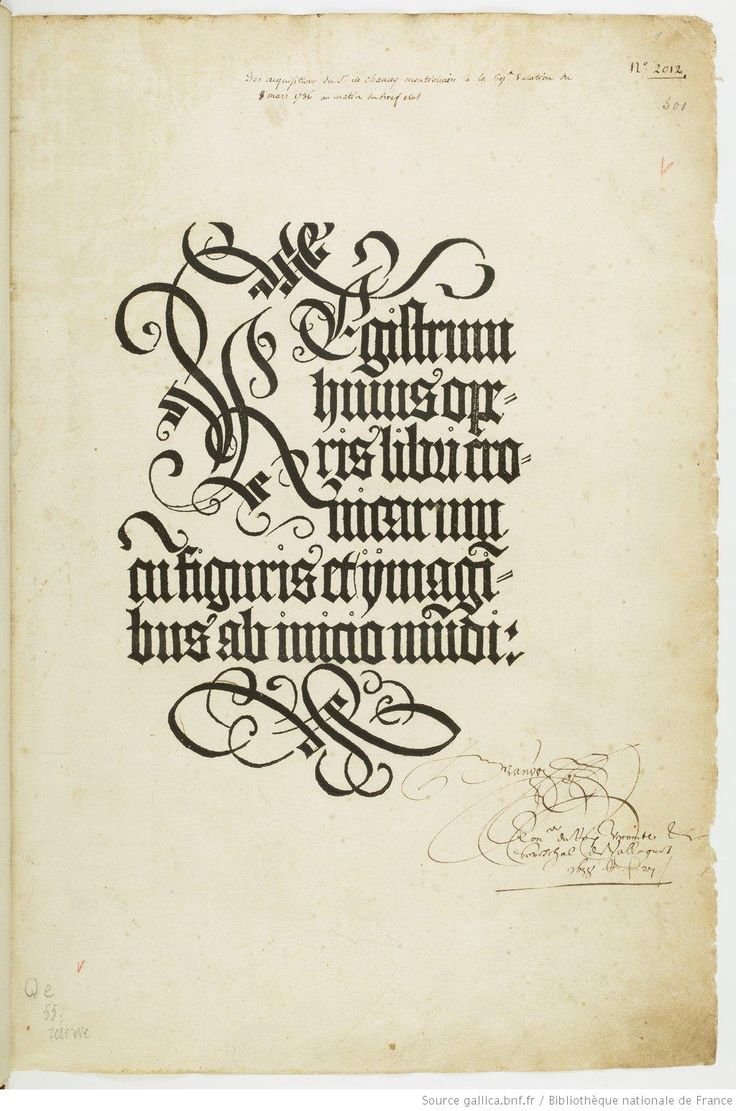 Woodcut lettering for the half-title page of the Nürenberg Chronicles, Cronica Cronicarum ab Initio Mundi..., by Schedel, Hartmann, 1493. See here for the entire book: http://gallica.bnf.fr/ark:/12148/btv1b8490060t/f1.planchecontact