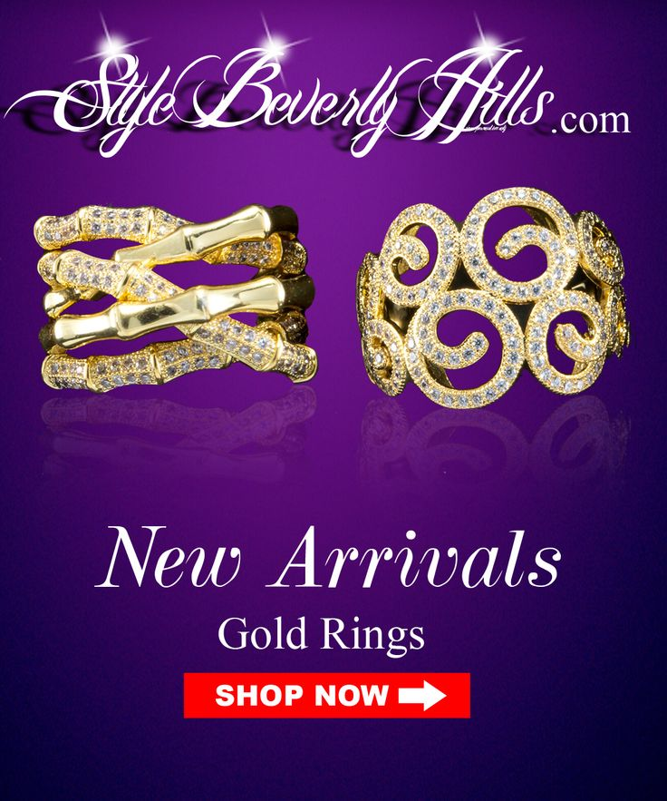Fashion Gold Rings #GoldRings #jewelry #jewelryaccessories #style #rings #weddingrings #wedding #bridal call now 213-746-1759