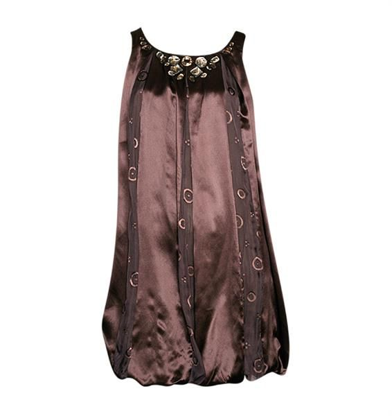 Платье с балон