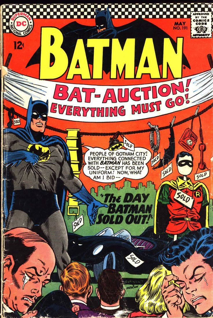 """The Day Batman Sold Out!"""