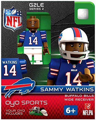 NFL Buffalo Bills Sammy Watkins Gen 2 Mini Figure Small ** Details can be found by clicking on the image.
