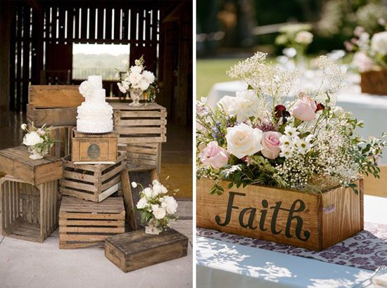 {Wedding Inspirations} Rustic charm