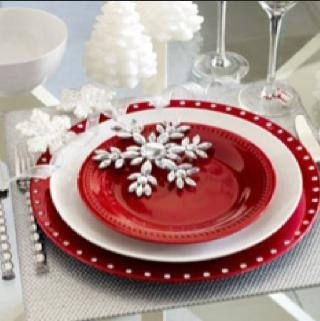 20 best Christmas table setting ideas images on Pinterest ...