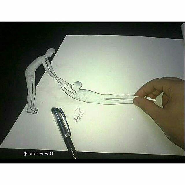 ♻ @mariam_anwer97: Fast &simple 3D drawing  . . #artcomplex  #rtistic_feature #arts_gallery #mcyarts #iglobalpic #sketch_daily  #artistic_nation #artsanity #instaartexplorer #dailyartistiq #art_spotlight #artworksfever #rtistic_feature #artsy #pendrawing #pensketch  #sketchbook #pendrawing #pendrawing  #pen #sketchbook #sketch #children #animals #artfido #artscloud #repost @repostapp #illustration #fashiondiaries #fashion @artfido #art @art_4share  #follow4follow #followme #creativity...