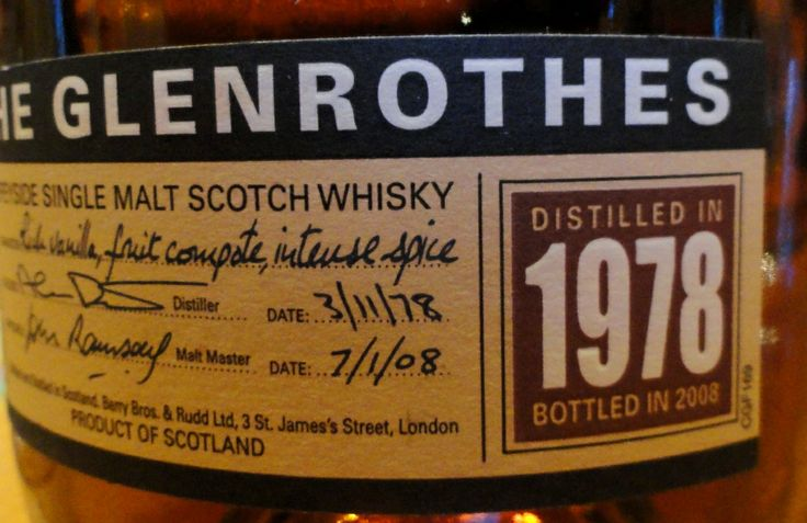Glenrothes 1978/2008 43%