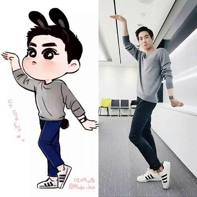 Fanart Bunny Junmyeon